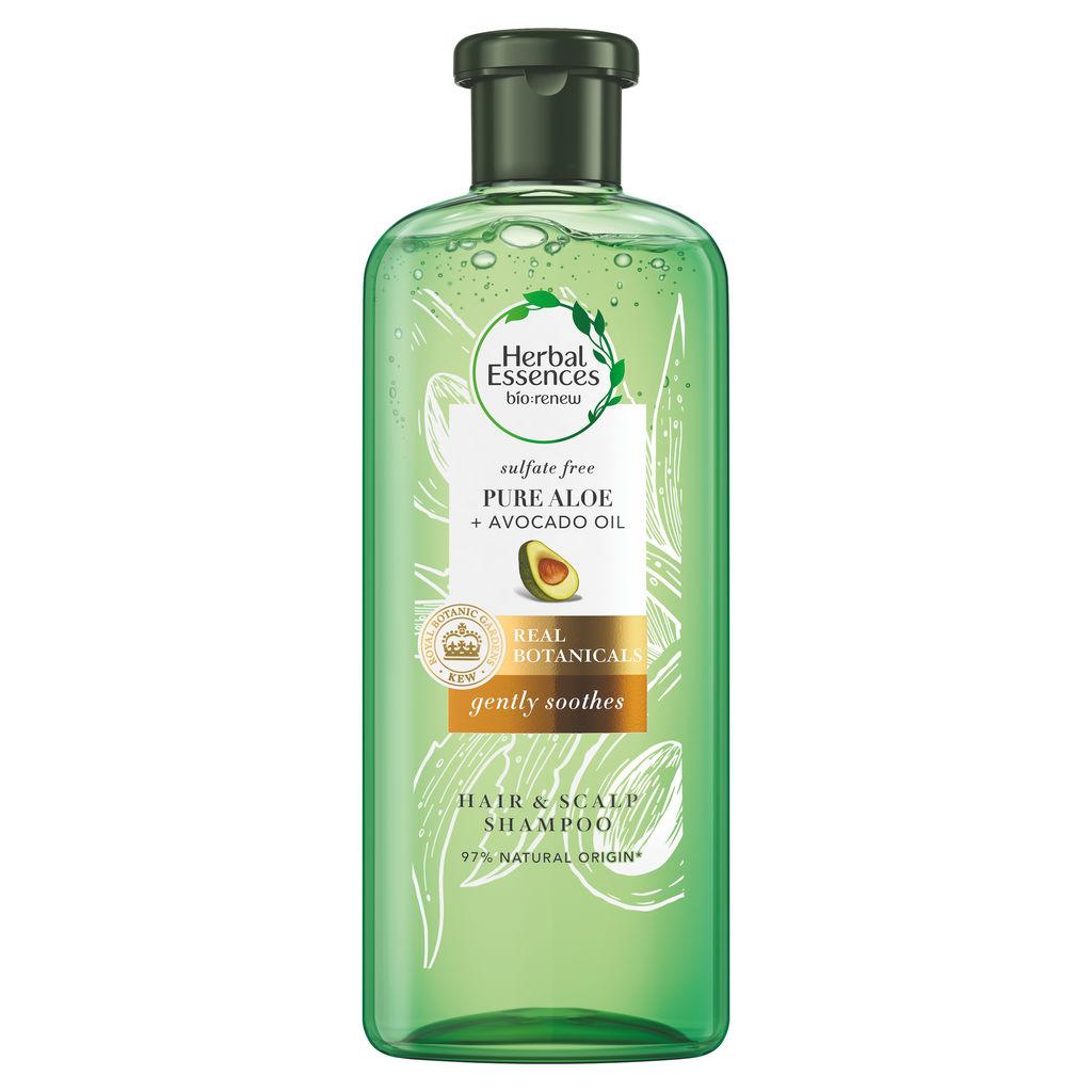 Šampon Herbal, Pure Aloe & Avocado, 380ml