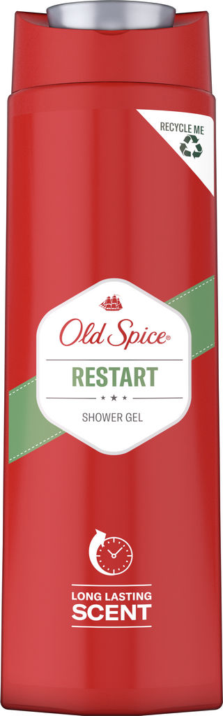 Tuš gel Old spice, Restart, 400 ml