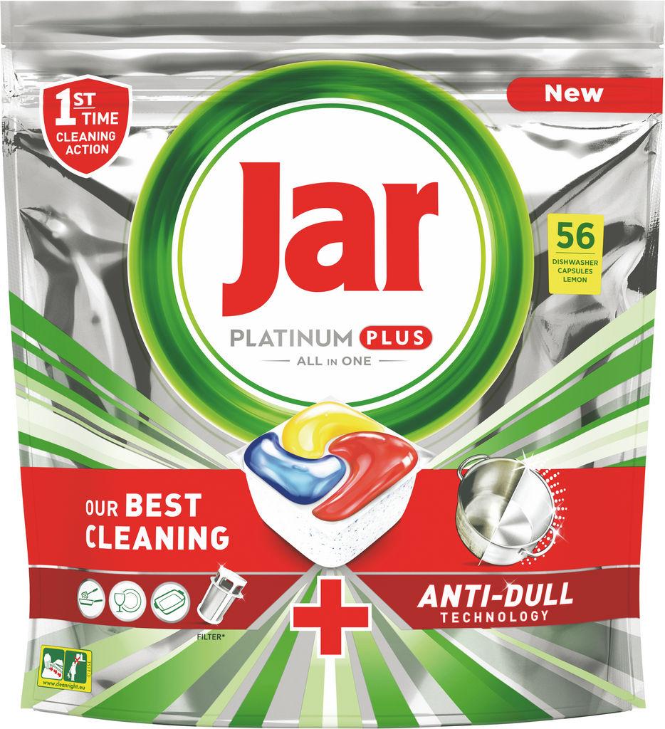 Kapsule Jar Platinum plus, rumene, 56/1