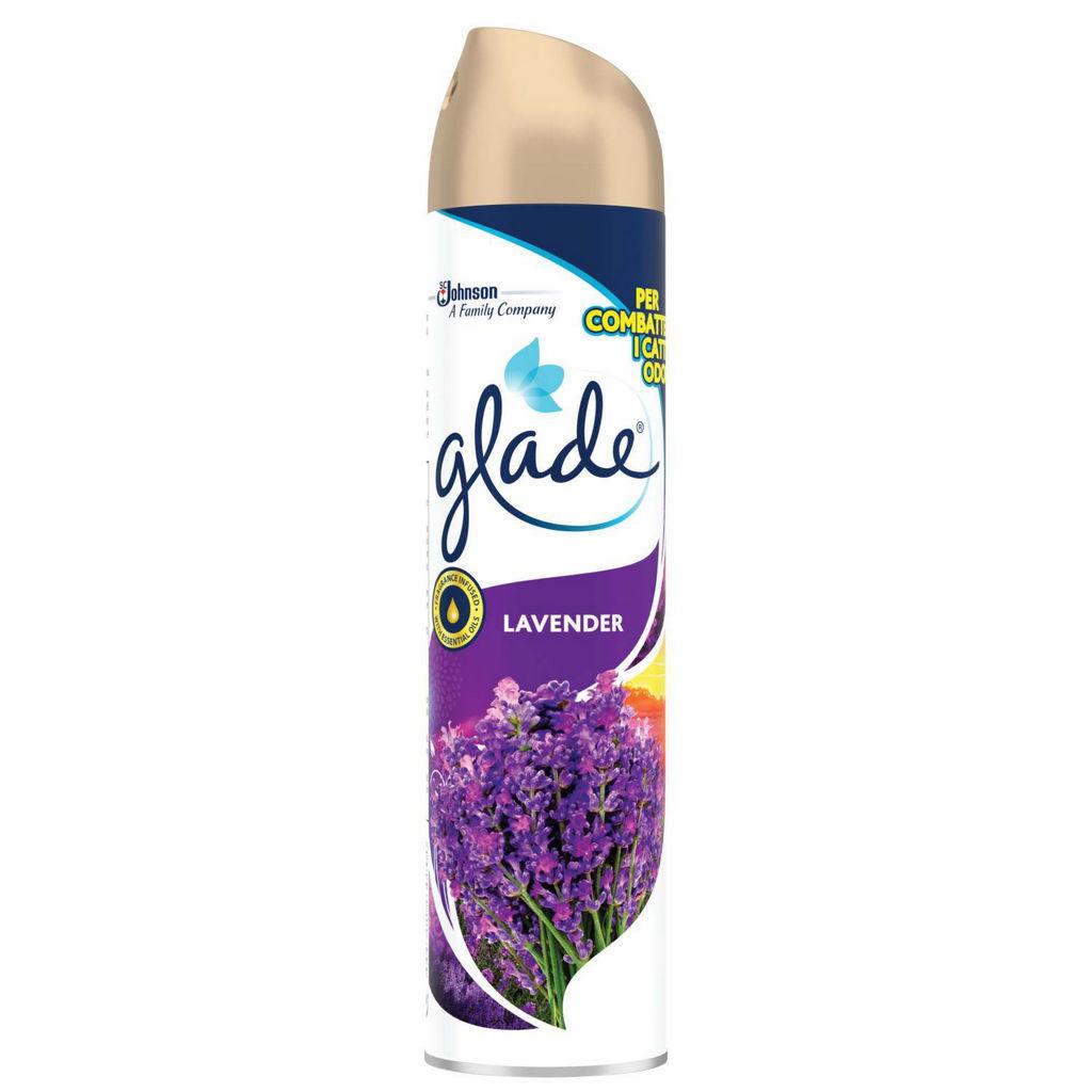 Osvežilec Glade, sivka, vijolica, 300ml