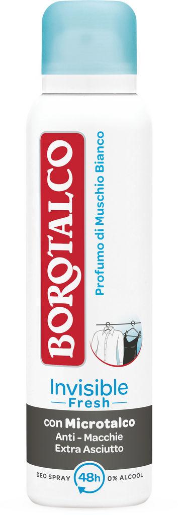 Dezodorant Borotalco, Invisible Fresh, 150ml