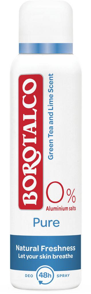 Dezodorant Borotalco, Pure Natural Freshness, 150ml