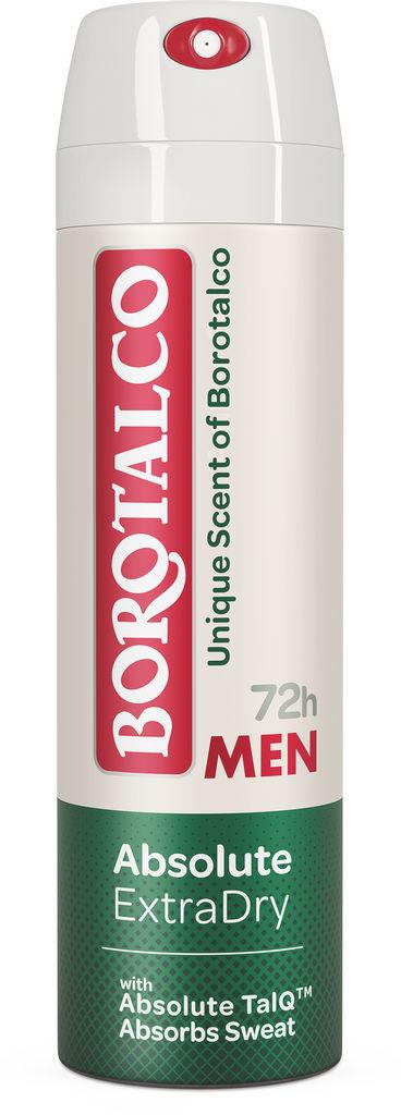 Dezodorant Borotalco spray men, absolute extra dry unique scent, 150 ml