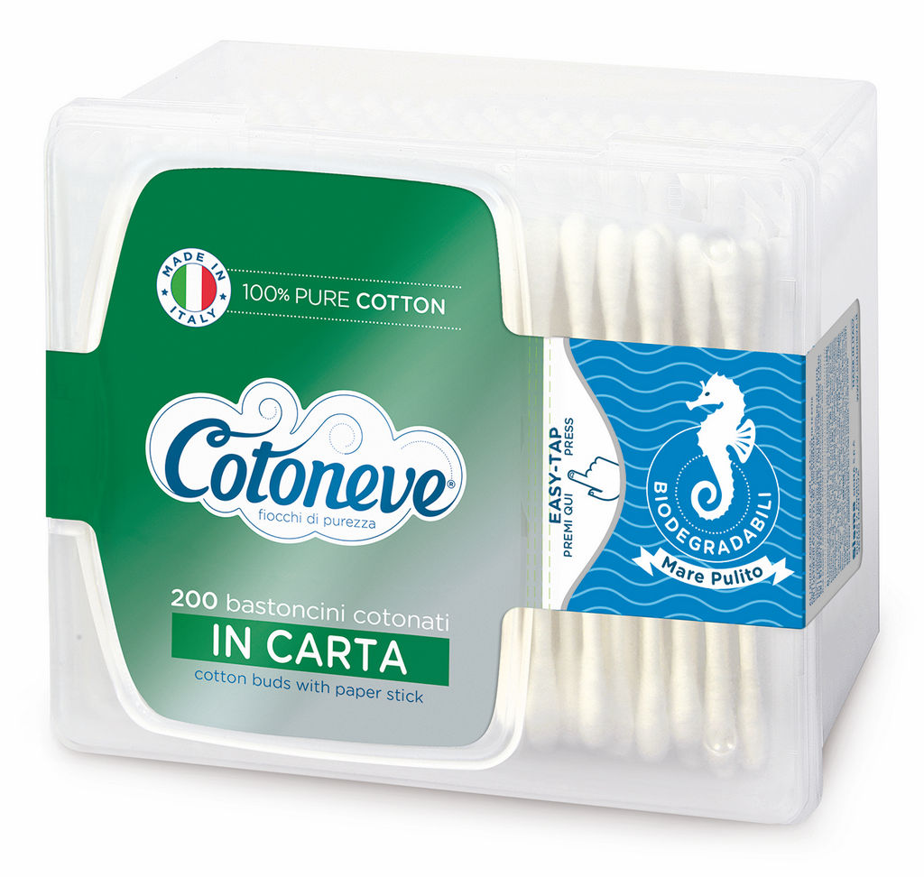 Palčke Cotoneve, papirnate v škatlici 200/1
