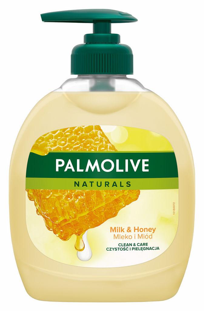 Milo Palmolive, tek., med in mleko, 300ml