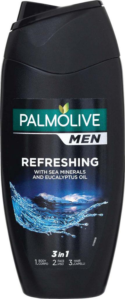 Gel za prhanje Palmolive, moški, Refreshing 2v1, 250ml