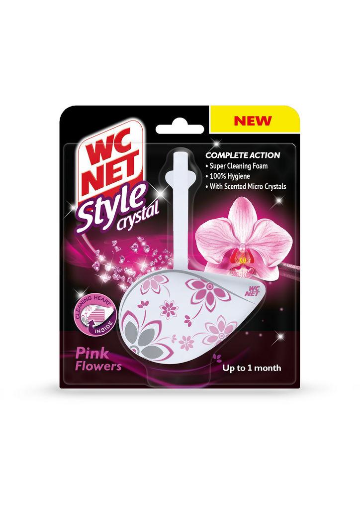 Osvežilec Wc net, Style pink, obešanka