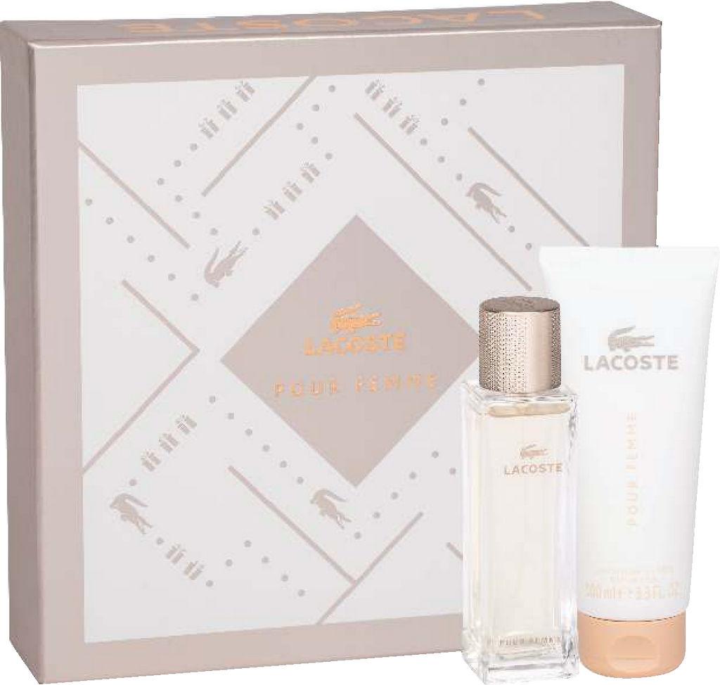 Darilni set Lacoste, Pour Femme, ženski, parfumska voda 50ml + losion za telo 100ml