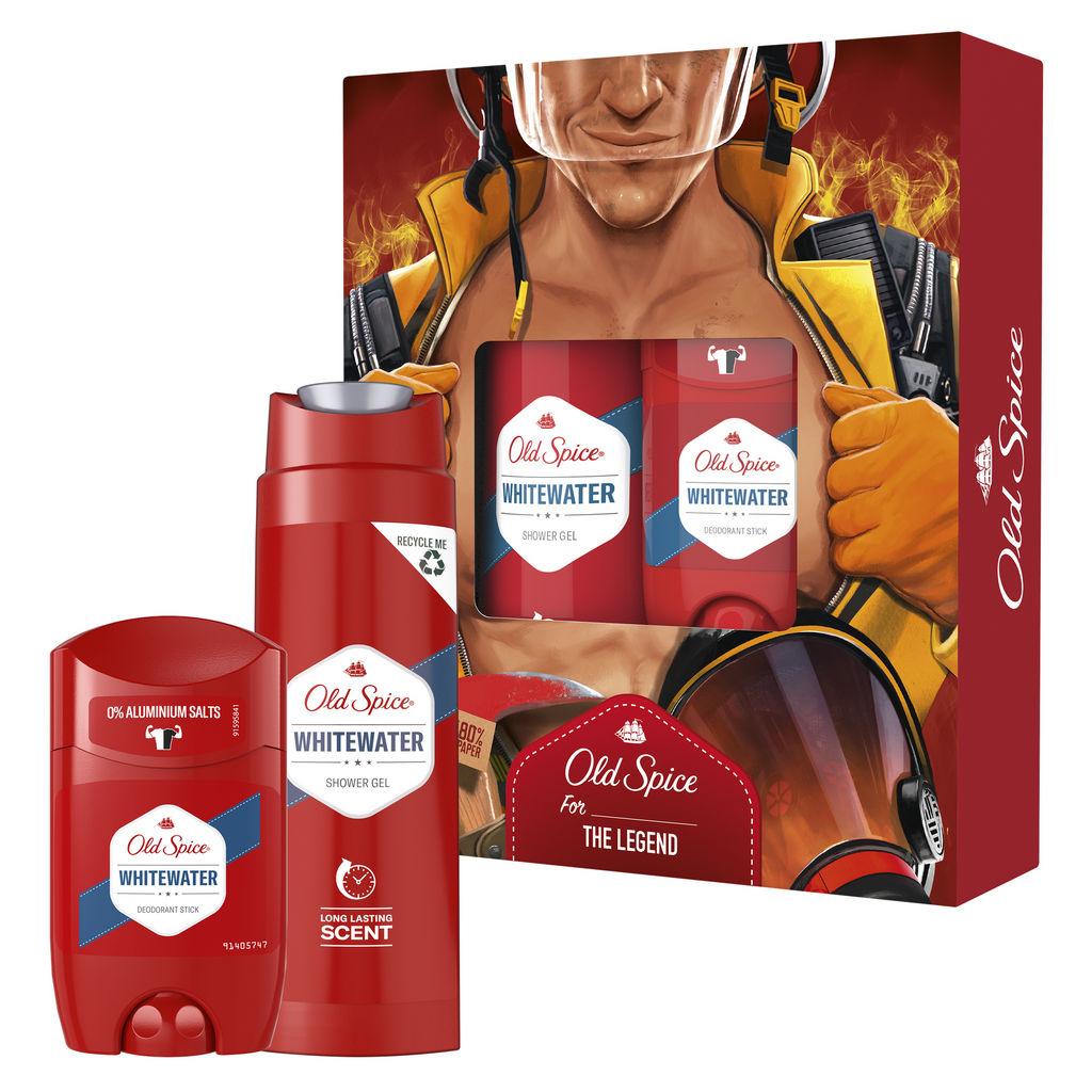 Darilni paket Old Spice, Whitewater Fireman, Božični, moški