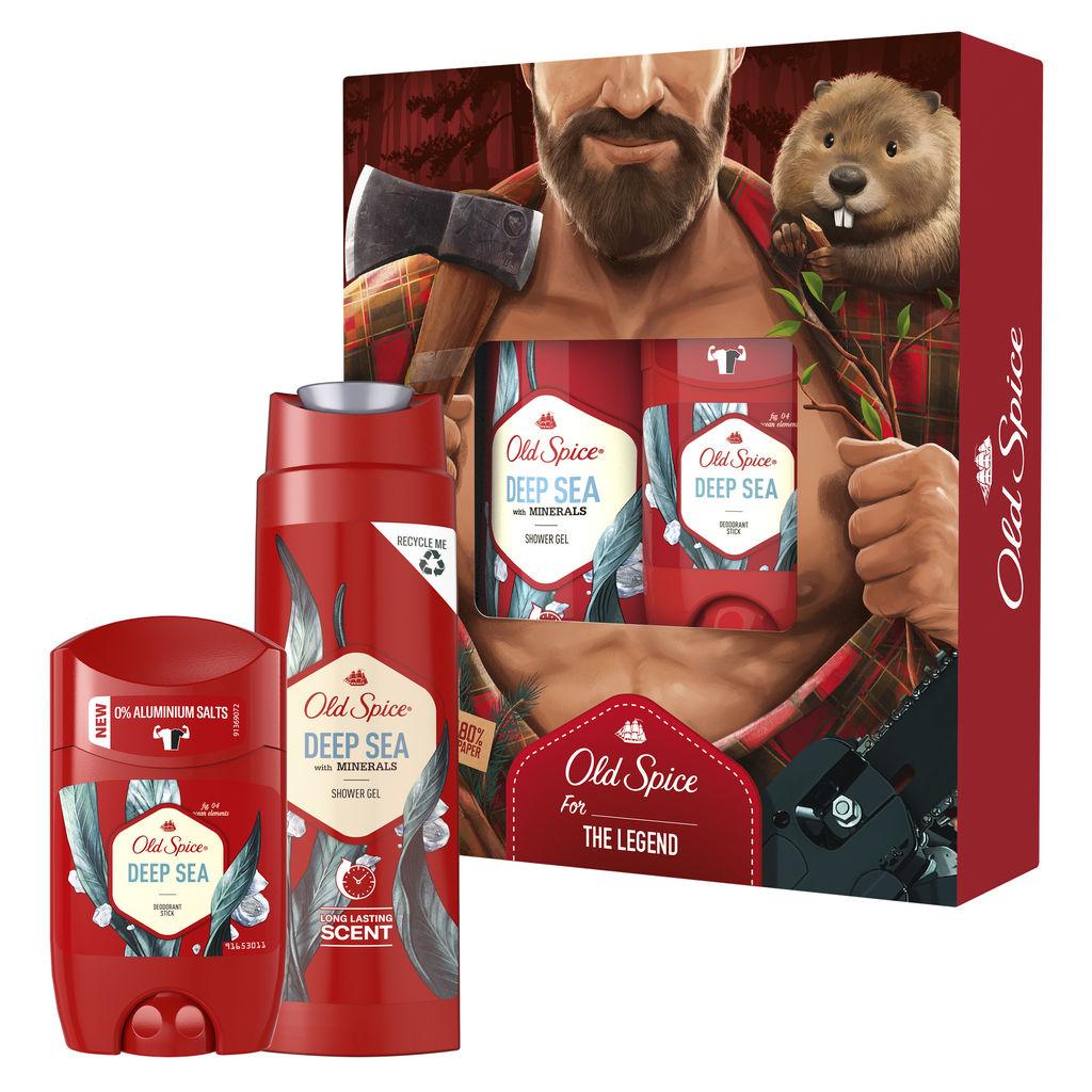 Darilni paket Old Spice, Deep Sea Lumberjack, Božični, moški