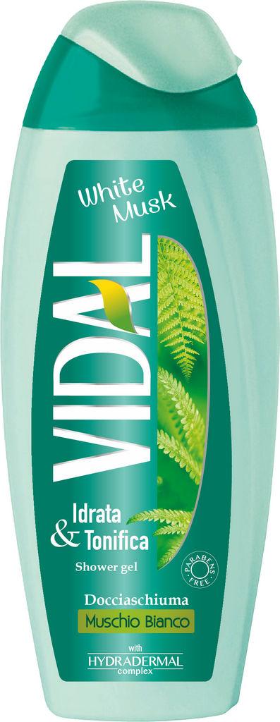 Gel za prhanje Vidal, wild, 250ml