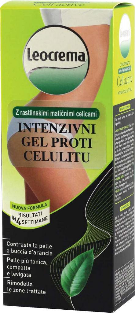Gel Leokrema, proti celulitu, 200 ml