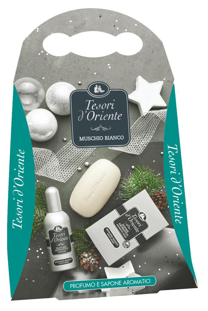 Darilni set Tesori D'Oriente Box, toaletna voda + parfumsko milo
