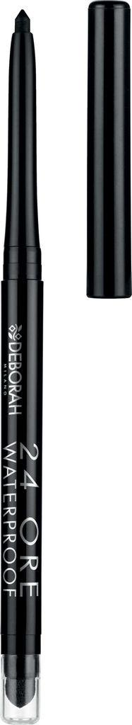 Svinčnik Deborah za oči, vodoodporen, črn 01