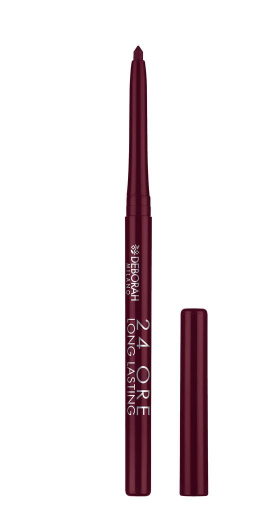 Svinčnik Deborah, 24h long lasting lip pencil, 01
