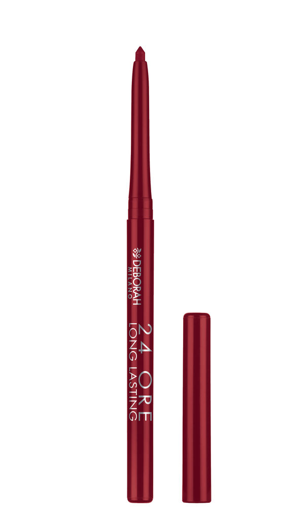 Svinčnik Deborah, 24h long lasting lip pencil, 02