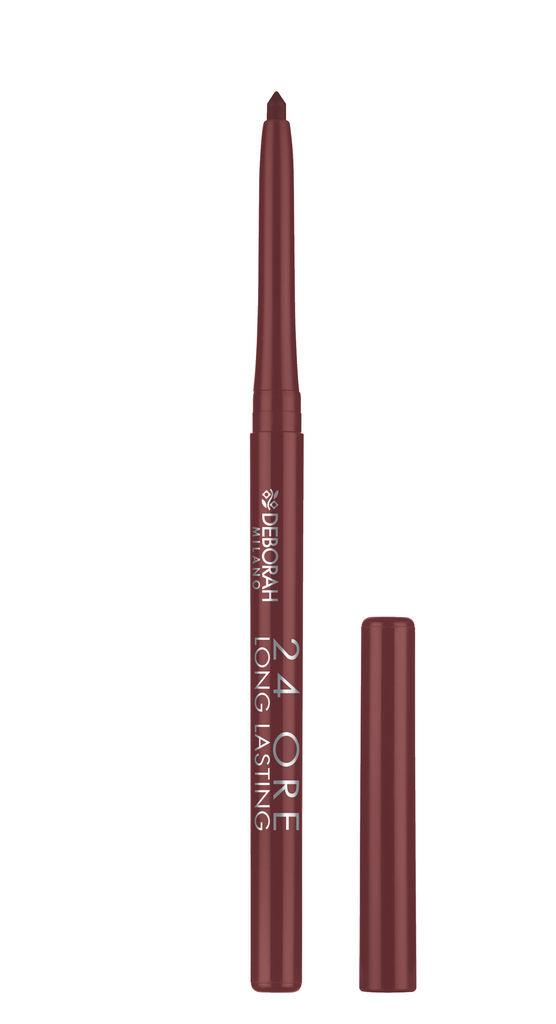 Svinčnik Deborah, 24h long lasting lip pencil, 06