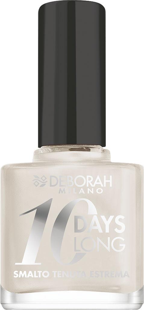 Lak za nohte Deborah 10 Days Long, 21 Pearly white