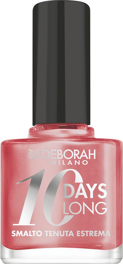 Lak za nohte Deborah 10 Days Long, 523 Pearly peach