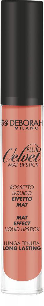 Rdečilo Deborah, Fluid Velvet Mat, 18 Nude
