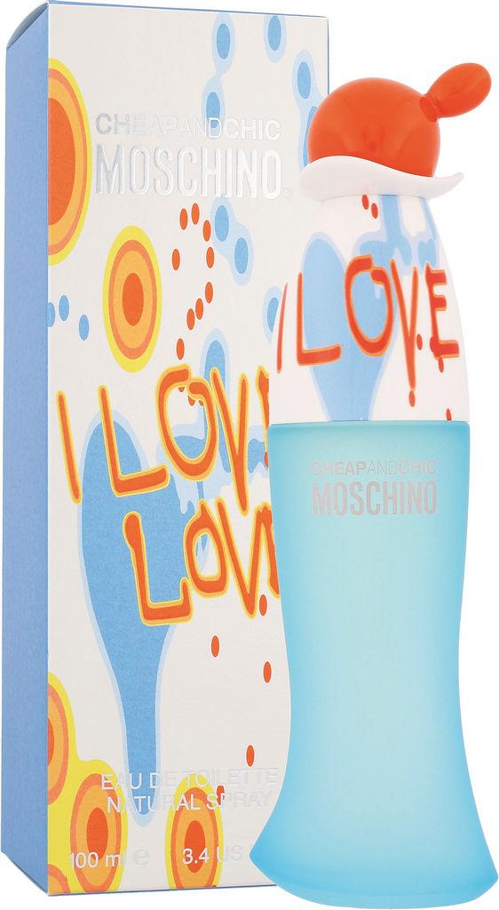 Ženska toaletna voda Moschino I Love Love, 100 ml