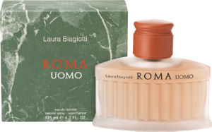 Toaletna voda Laura Biagioti, Roma Uomo, moška, 125ml