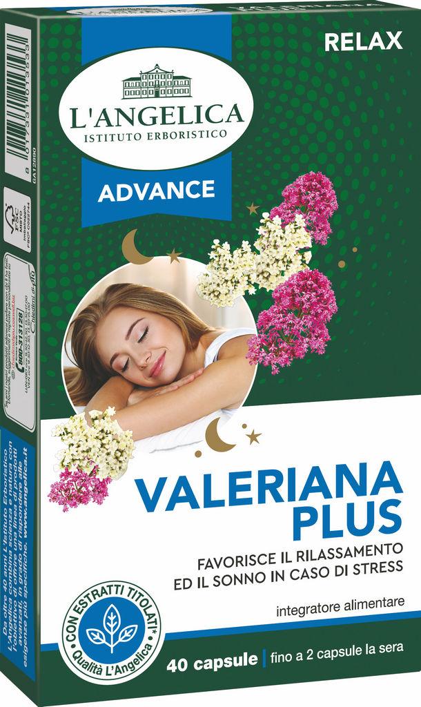 Prehransko dopolnilo L'Angelica baldrijan plus,40/1