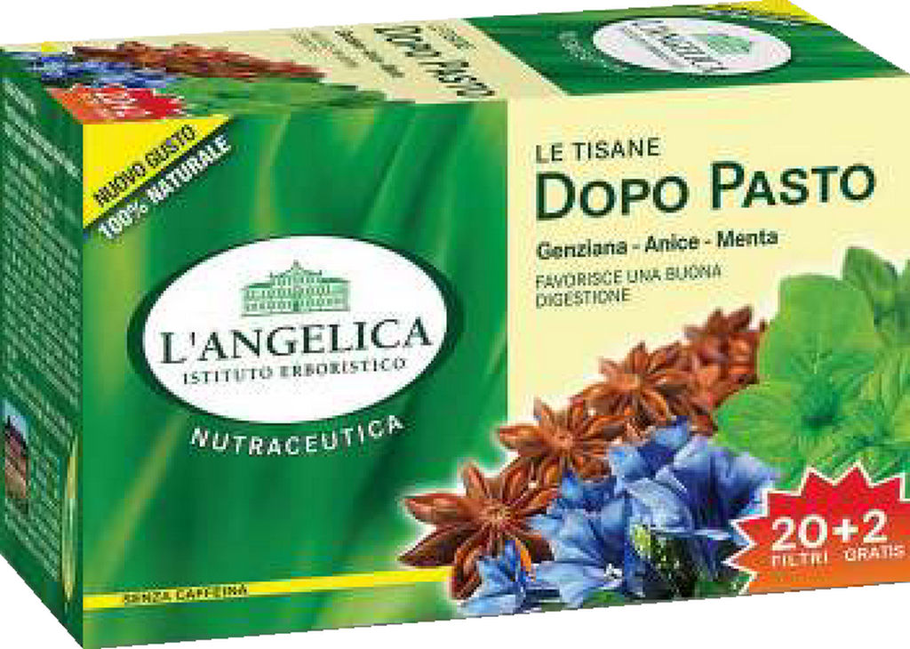 Čaj  L'Angelica, zeliščni, za boljšo prebavo, 44g
