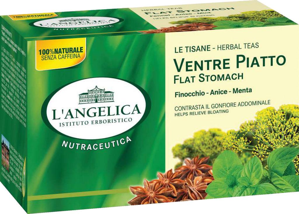 Čaj L'angelica, za raven trebuh, 44 g