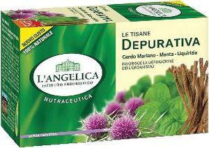 Čaj  L'Angelica, zeliščni, za prečiščevanje, 44 g