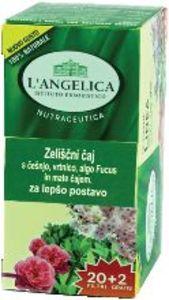 Čaj L'Angelica, zeliščni, za lepšo postavo, 37,4 g