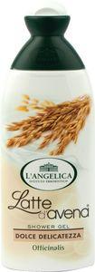 Gel za prhanje L'Angelica, oves suha in občutljiva koža, 250ml