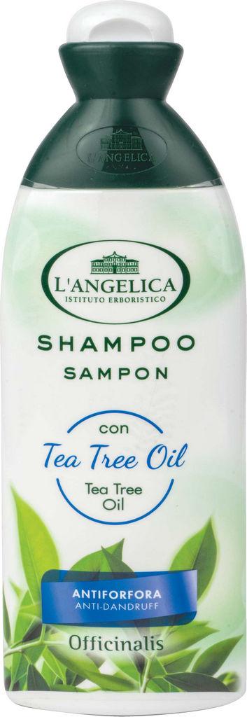 Šampon L'Angelica, officinalis, čajevec, 250 ml