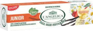 Zobna pasta L'Angelica, otr., zeliščna, 50ml