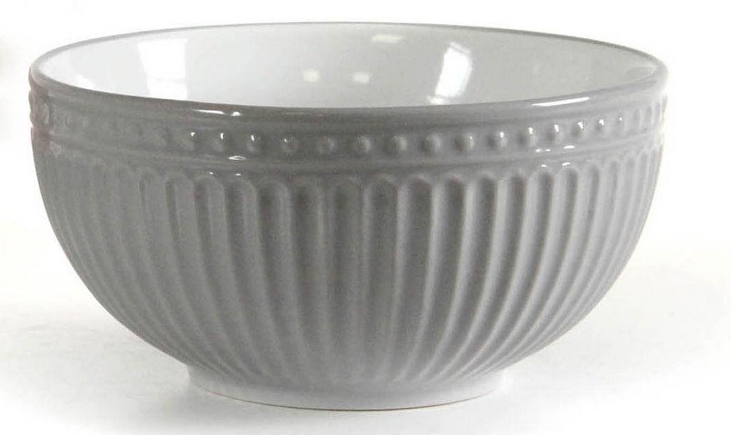 Skledica za musli, porcelan, sort. barve, 600 ml