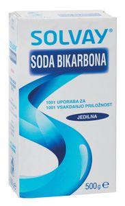 Soda bikarbona Solvay, 500 g