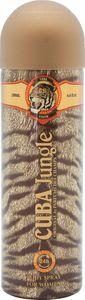 Dezodorant sprej Cuba Jungle Tiger ženski, 200ml