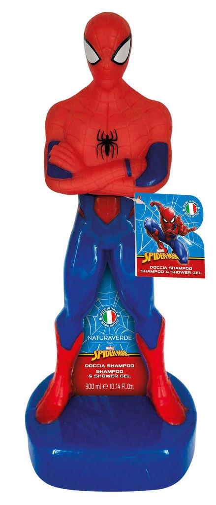 Darilni set Naturaverde, Spiderman 3D, otroški, tuš gel