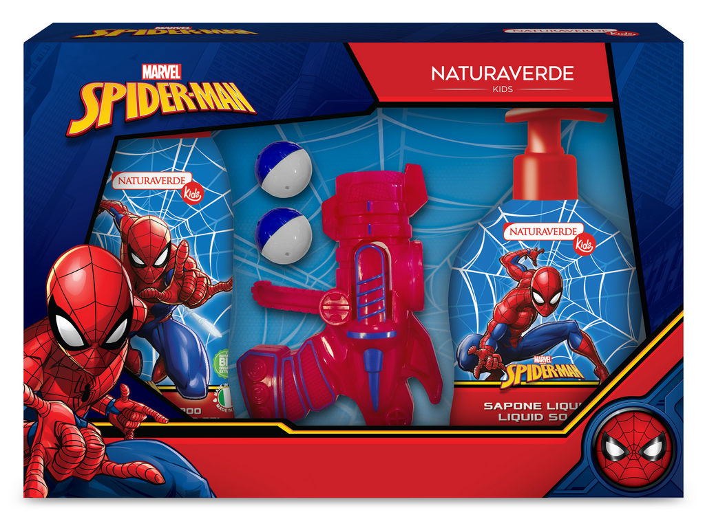 Darilni set Naturaverde, Spiderman ball