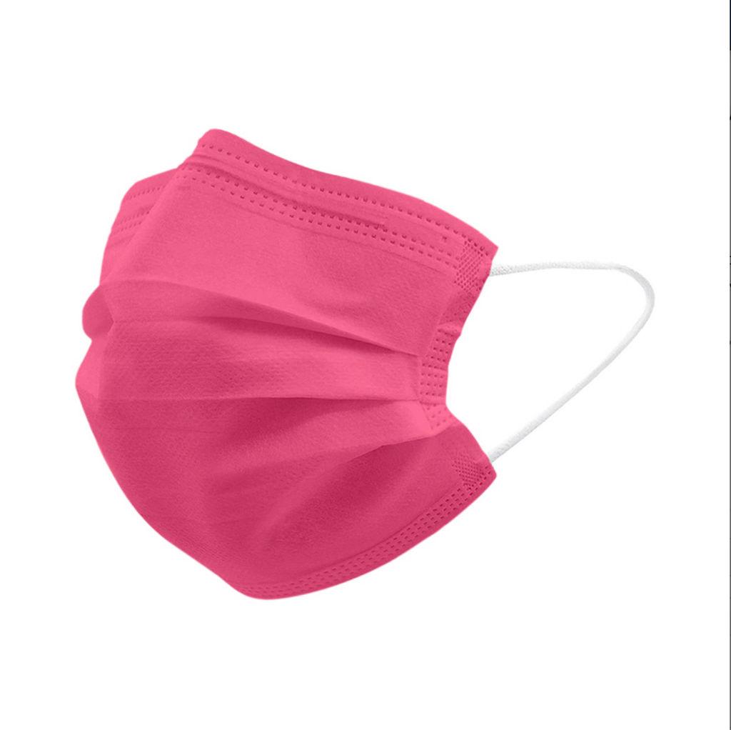 Maska Popme, medicinska, za odrasle, Bubble Gum Pink, 5/1