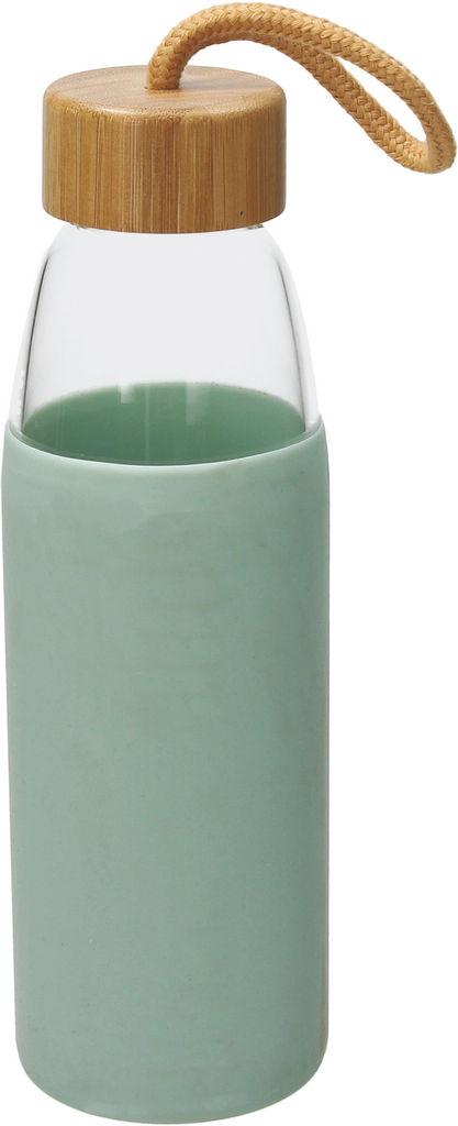 Steklenička za vodo 500ml, pastelno zelena