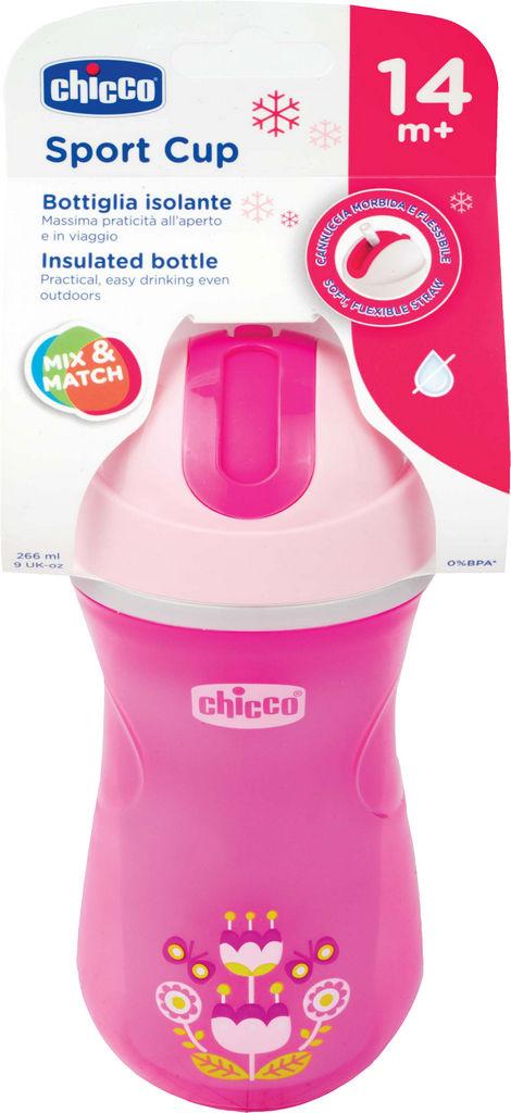 Lonček Chicco Sport Cup, roza 14M+