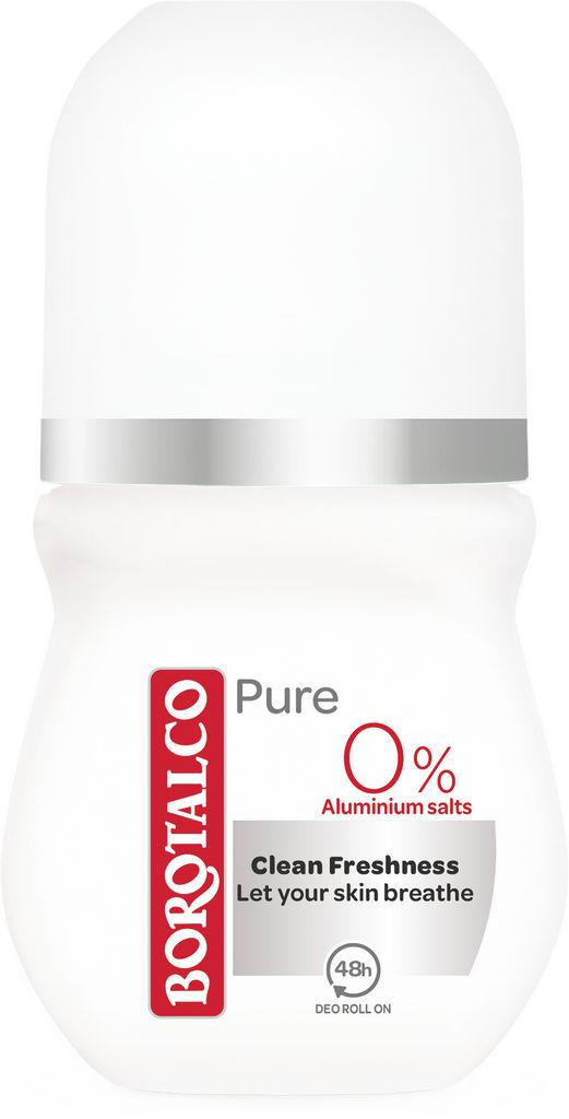 Dezodorant roll-on Borotalco, pure, 50ml