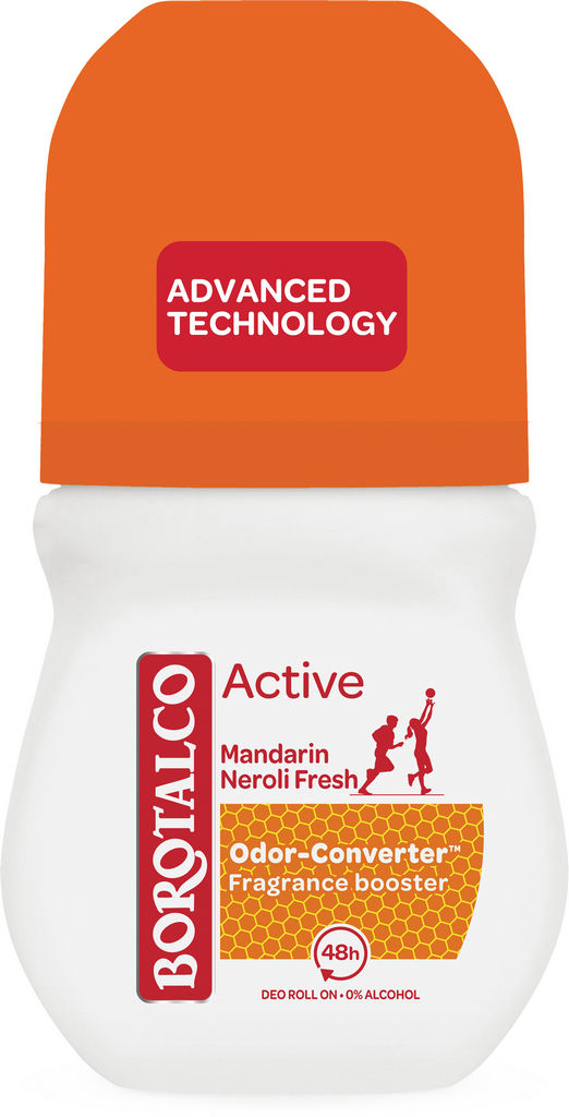 Roll-on Borotalco Active mandarin&neroli, 50ml