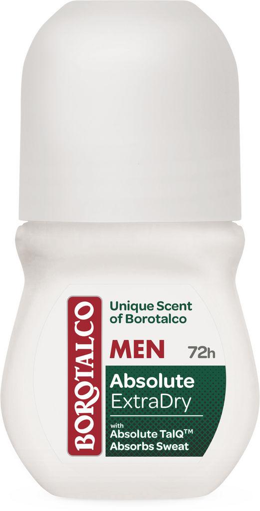 Dezodorant Borotalco roll-on man, extra dry unique scent, 50 ml
