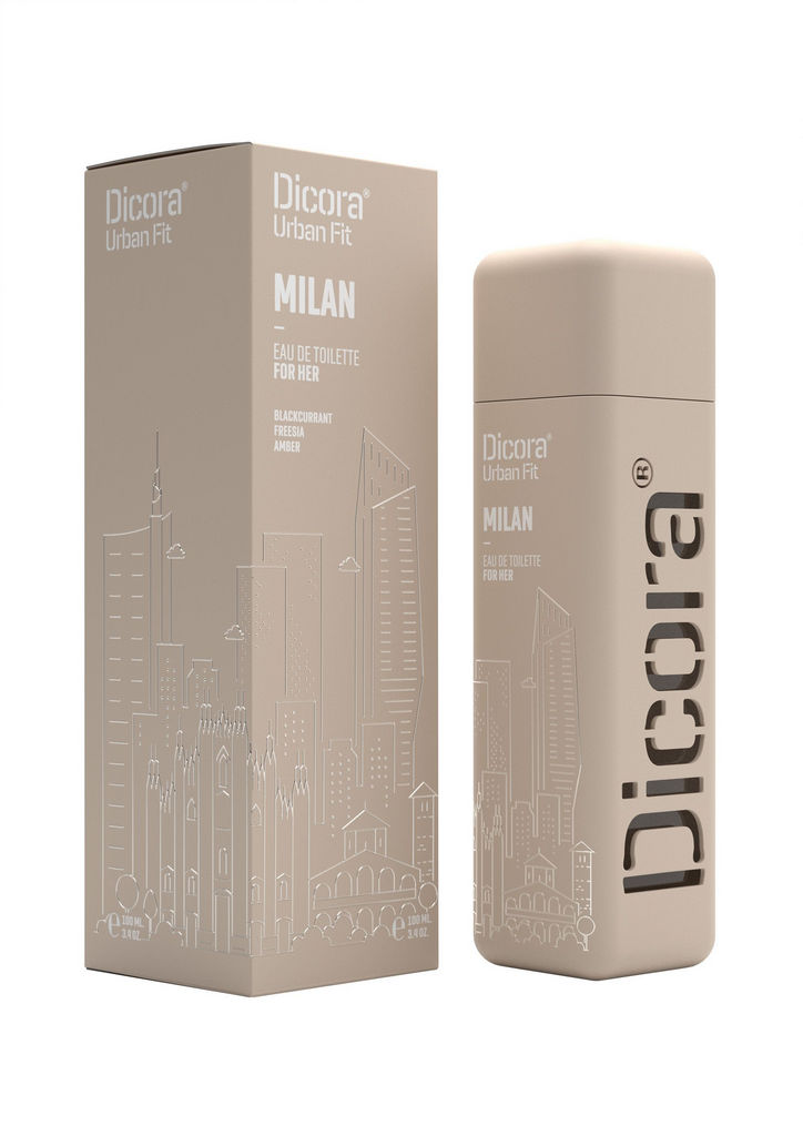 Toaletna voda Dicora Urban Fit Milan, ženska, 100ml