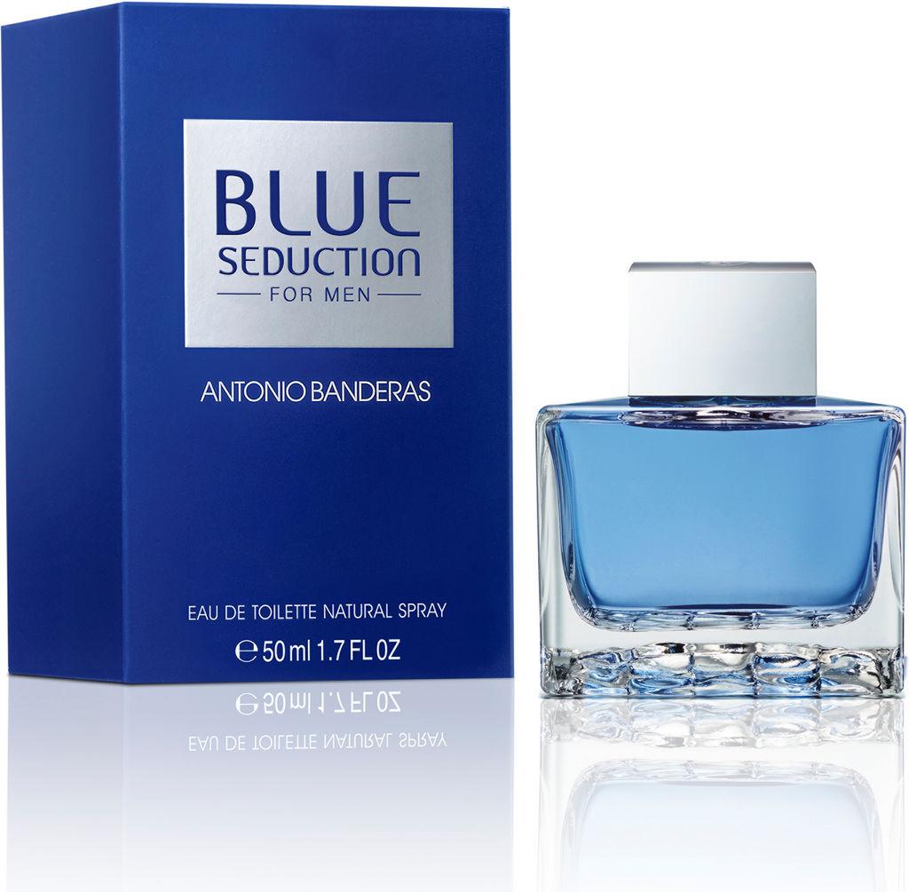 Toaletna voda Antonio Banderas Blue Seduction, moška, 50ml