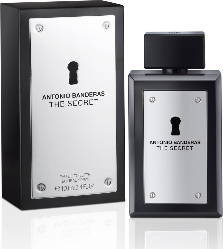 Toaletna voda Antonio Banderas, Secret, moška, 100ml