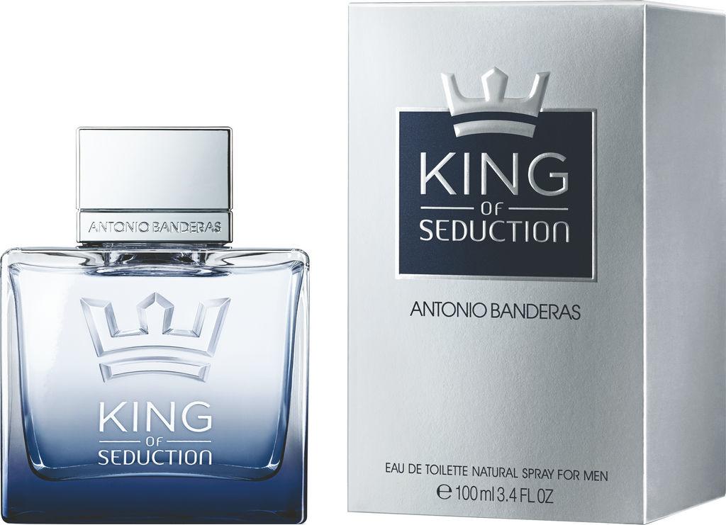 Toaletna voda Antonio Banderas, King of Seduction, moška, 100ml