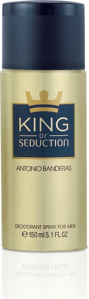 Dezodorant Antonio Banderas, King of Seduction, moški, 150ml